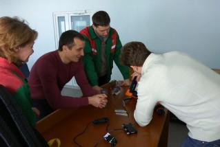 Демонстрация дефектоскопов в Беларуси