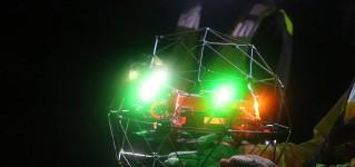 Противоударный промышленный квадрокоптер Elios 2 создаёт трёхмерные модели подземных горных выработок