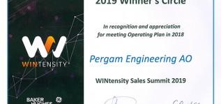 Компания ПЕРЕГАМ получила платиновый партнёрский статус от GE