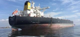 Обследование танкеров системой телеинспекции на базе противоударного квадрокоптера Flyability Elios