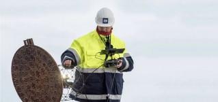 Обследование канализации и водостоков при помощи системы телеинспекции на базе противоударного квадрокоптера ELIOS