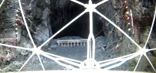 Система телеинспекции на базе противоударного квадрокоптера ELIOS обследует шахту по добыче палладия